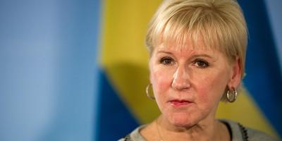 La ministra degli Esteri svedese contro l'Arabia Saudita, di nuovo