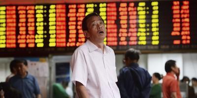 Il grande crollo della borsa di Shanghai