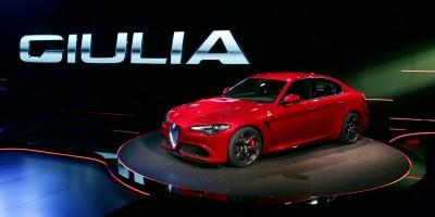 La presentazione della nuova Alfa Romeo Giulia, le caratteristiche