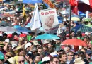 Ci stanno un milione di persone in Piazza San Giovanni a Roma?