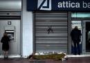 Le banche greche rischiano