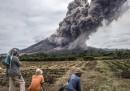 Le foto spettacolari del vulcano Sinabung