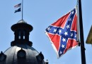 Mitt Romney e la bandiera confederata nel Parlamento del South Carolina