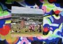 Le prime foto da Glastonbury