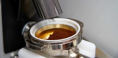 La macchina del caffè personalizzato a Expo