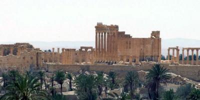 L'ISIS sta minando Palmira
