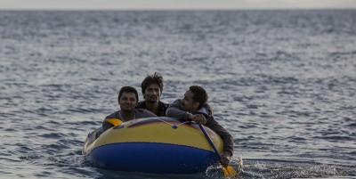 Le foto dei migranti a Kos, in Grecia