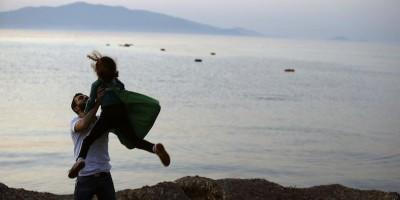 Le foto degli immigrati a Lesbo, in Grecia