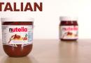 Nutella italiana vs Nutella americana