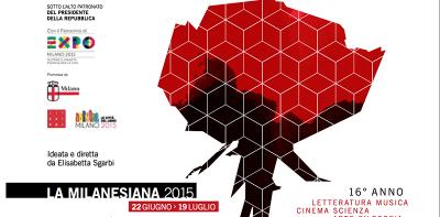 Il festival della Milanesiana a Milano