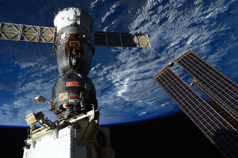 Soyuz attraccata alla ISS