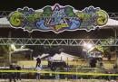 Ci sono più di 500 feriti per un incendio in un parco divertimenti di Taipei