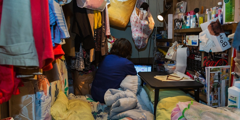 Appartamenti piccolissimi a tokyo il post for Appartamenti giappone