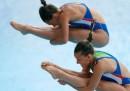 Tania Cagnotto e Francesca Dallapè hanno vinto l'oro nel 3 metri sincro femminile agli Europei