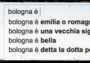 Le città italiane secondo l'autocomplete di Google