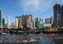 Le foto del Festival delle barche drago a Hong Kong