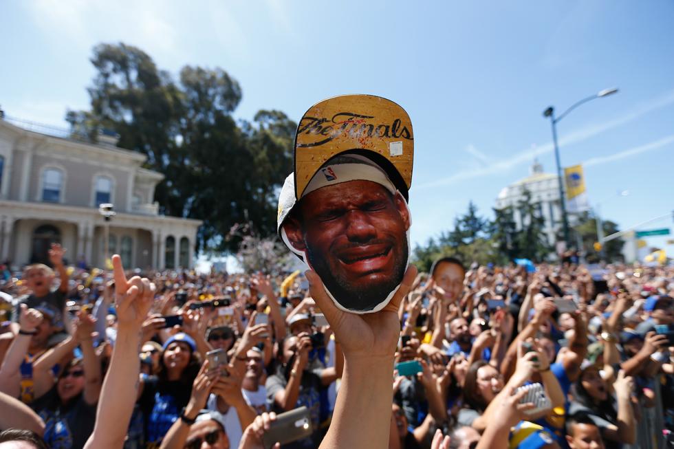 9b721707f190 La parata dei Golden State Warriors per il titolo NBA - Il Post