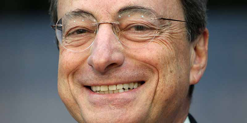 Mario Draghi presidente della BCE