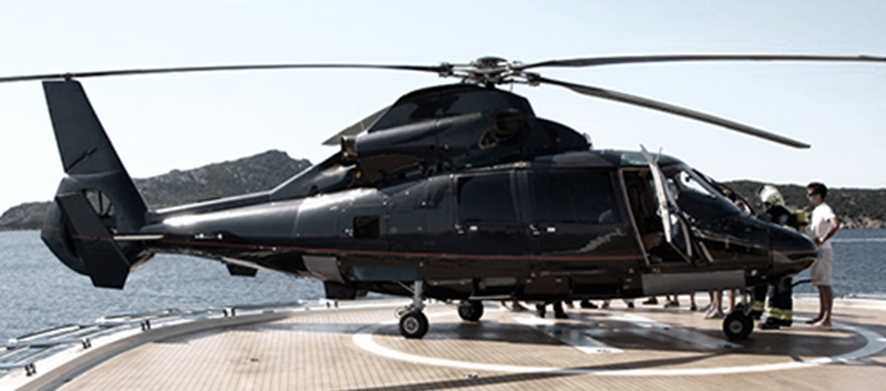 Elicottero 7 Posti : A expo in elicottero il post