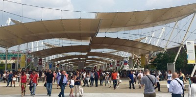 Quanto si cammina a Expo?