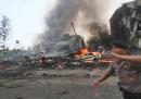 C'è stato un incidente aereo in Indonesia