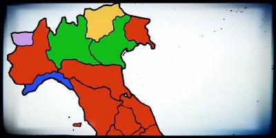 Chi governa le regioni in Italia