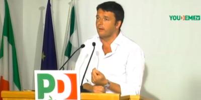 Il video del discorso di Renzi alla direzione del PD