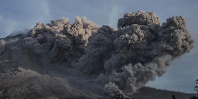 La nuova grande eruzione del Sinabung