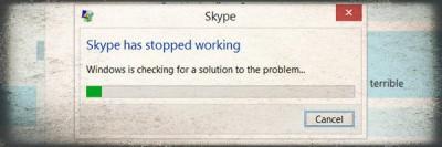 Gli 8 caratteri che fanno bloccare Skype