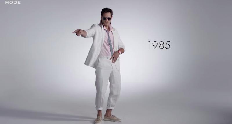 100 anni di moda maschile in 3 minuti - Il Post