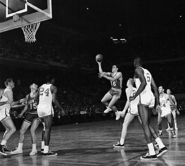 Cliff Hagan NBA Playoffs 1960