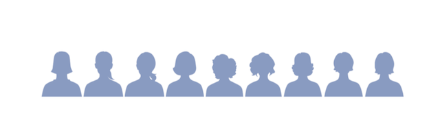 Facebook-donna