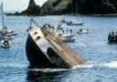 L'affondamento della Rainbow Warrior, trent'anni fa