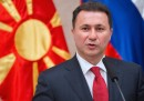 Il primo ministro della Macedonia ha annunciato che si dimetterà