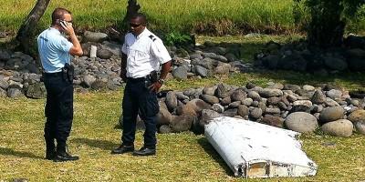 Il pezzo d'ala era del volo MH370