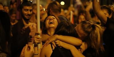 Le foto dei festeggiamenti ad Atene