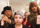 La visita di Jack Sparrow in un ospedale per bambini