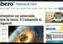 La bufala dell'asteroide che distruggerà la Terra