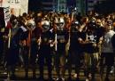 Le foto delle proteste ad Atene