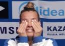 Tania Cagnotto ha vinto la sua prima medaglia d'oro nei Mondiali di nuoto