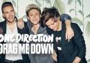 Drag me Down, la nuova canzone degli One Direction senza Zayn Malik