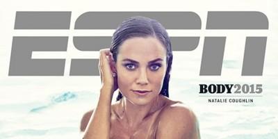 Le copertine della rivista ESPN con gli atleti nudi