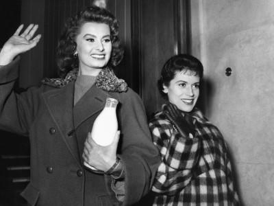 Franca Valeri e Sophia Loren