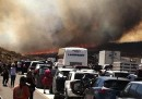 Le foto del grande incendio in California