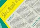 """Un alfabeto artistico sulla prima pagina del """"Sentinel & Enterprise"""", per un mese"""