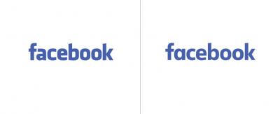 Com'è fatto il nuovo logo di Facebook