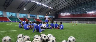 L'enorme scuola di calcio del Qatar