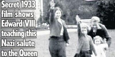 I cittadini britannici e il saluto nazista della regina