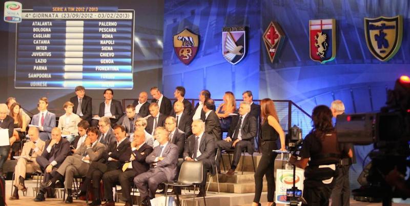 Il Sorteggio Del Calendario Per La Prossima Serie A