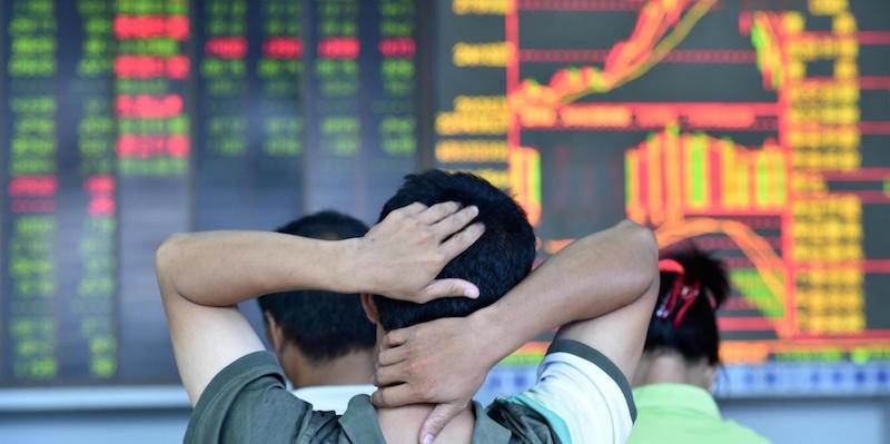 **CHINA-STOCKS-DROP (CN)